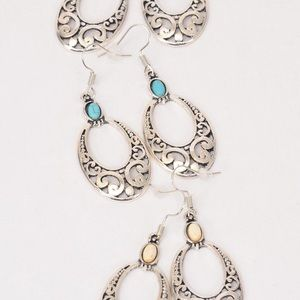 Jewelry - 5 Pack Wholesale Earring Lot